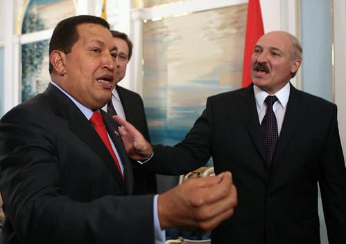 Chavez und Lukaschenko (Quelle: chavezcandanga@Flickr)