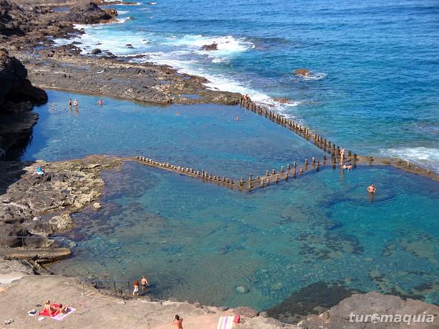 piscinas naturais em gran canaria roque prieto On piscinas naturales sardina del norte