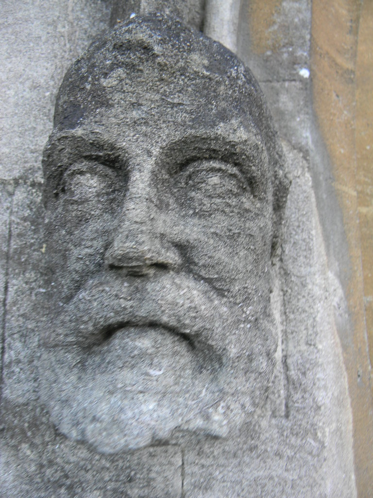 Face, Arundel Cathedral Amberley to Arundel