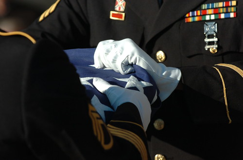 Virginia Army National Guard Military Funeral Honors Program honors remains of 10 unclaimed veterans during Veterans Day ceremony