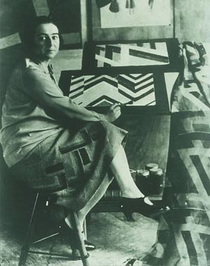 Delaunay-Terk, Sonia (1885-1979) by Photographer Unknown to Me