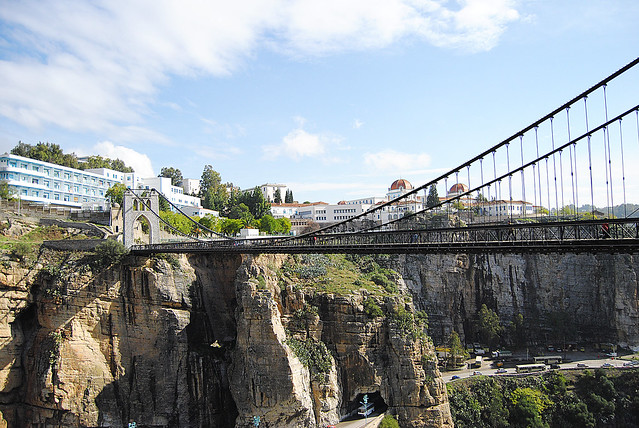 Le pont de sidi m 39 cid constantine flickr photo sharing for Piscine sidi m cid constantine