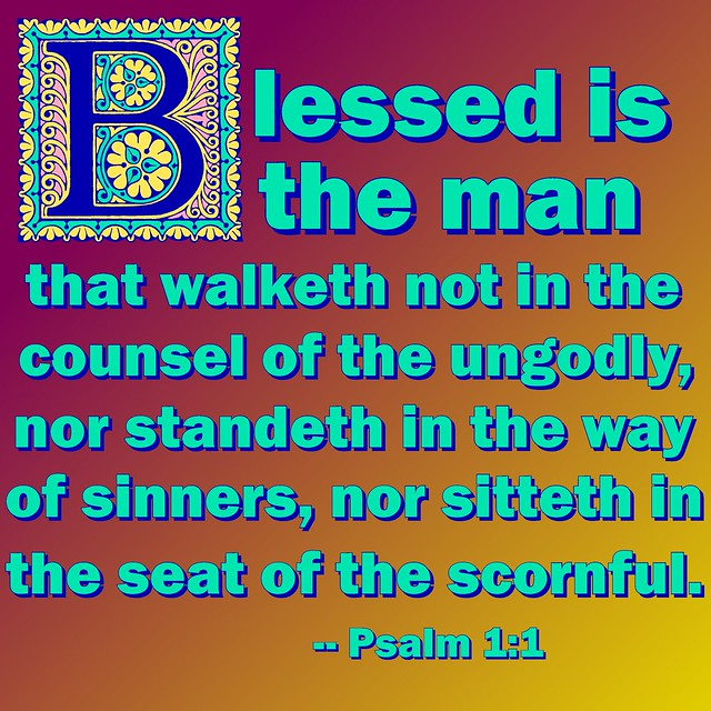 Image result for Psalms 1:1