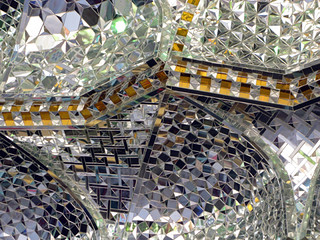 Mirrored ceiling - Jameh Mosque, Tehran | by retrotraveller