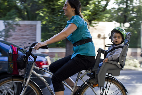 Hey, voy en bici!