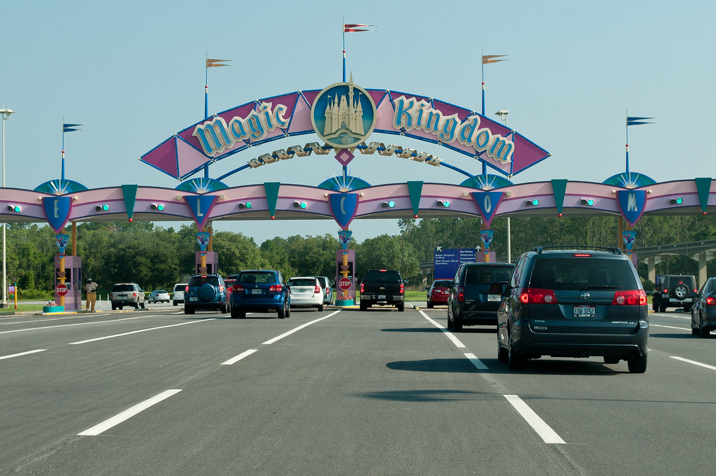 Entrance to Magic Kingdom