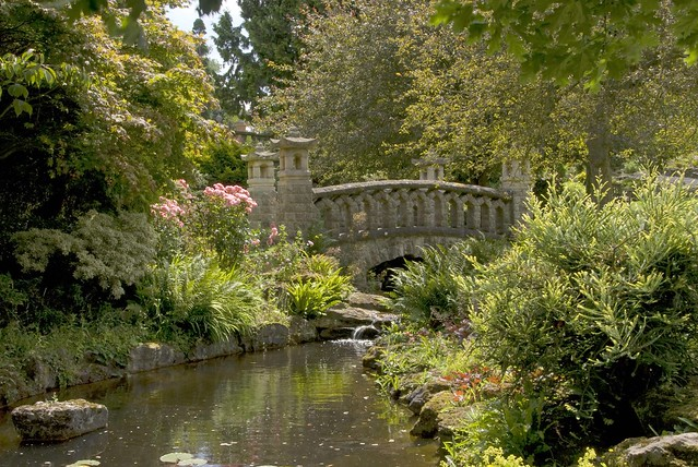 Bridge in Mount Ephraim gardens