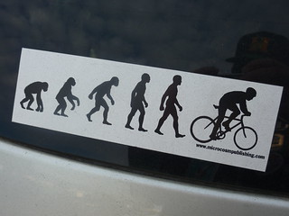Bikers are more evolved?