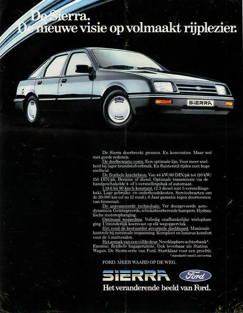 1983 Ford Sierra (NL)