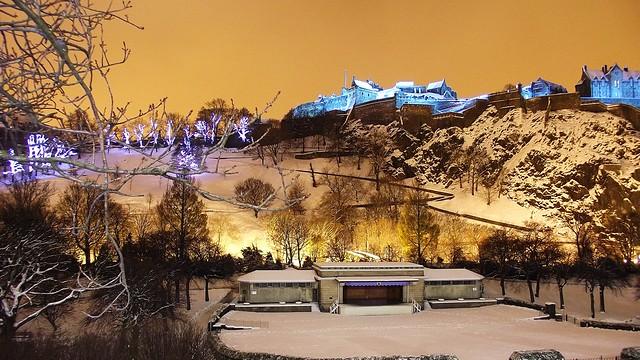 Edinburgh Castle, Saint Andrew's Night