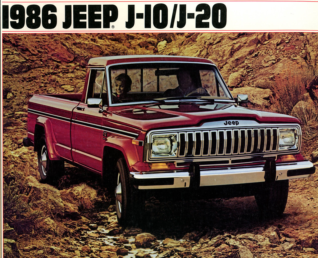1986 Jeep j10 / J20 Ad - a photo on Flickriver