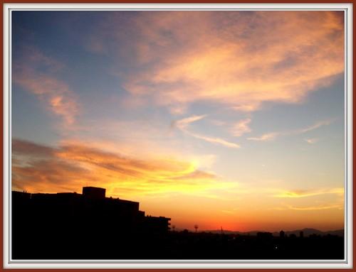 chile santiago sunset sky atardecer cielo puestadesol febrero maría silviaog