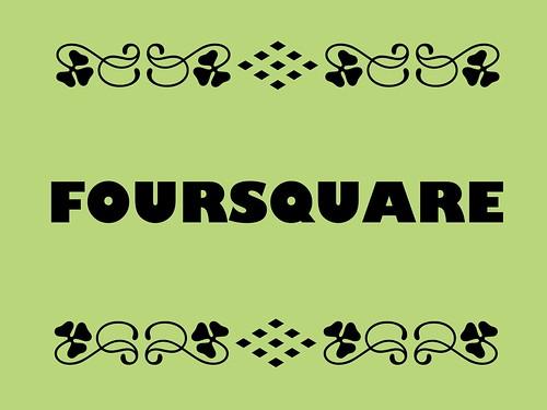 Buzzword Bingo: Foursquare
