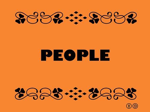 Buzzword Bingo: People