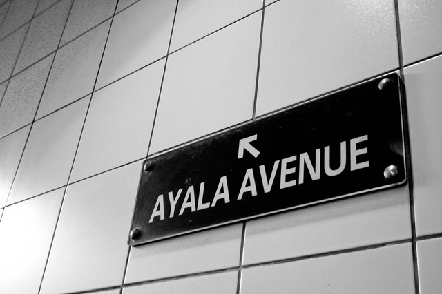 Header of Ayala Avenue