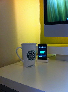 iPod Touch and Coffee
