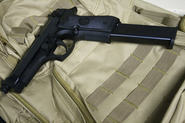 9Mm with Extended Clip