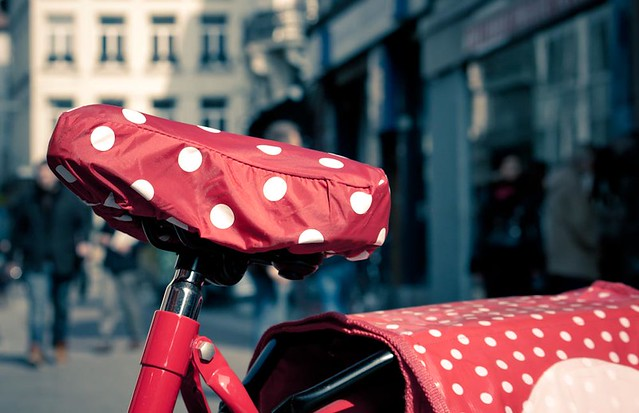 Bike with Polka Dots