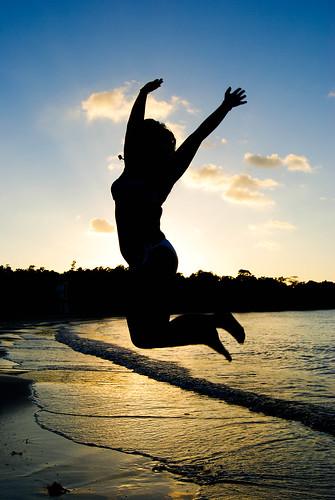 sunset beach jump jamaica