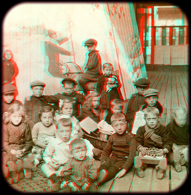 Wwi, belgian children made orphans by the war, alexandra palace