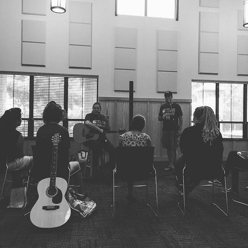 Spent the week as a mentor for #realliferealmusic songwriter camp with @susangibsonmusic and @kyle_real_life. 10 girls in treatment who have faced things I can't fathom surviving. They wrote songs about their lives and recorded them. Today they play them