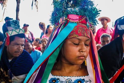 Vocera del Concejo Indígena de Gobierno visita Santa María Ostula