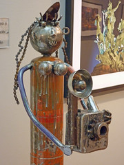 California - Recycled Metal Sculptures by Phillip Glashoff