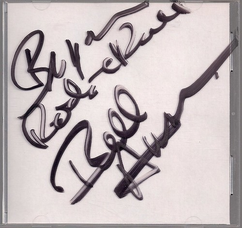 Bill Aucoin Autographed CD Case
