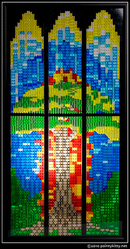 Survivors of Trauma Lego Mosaic