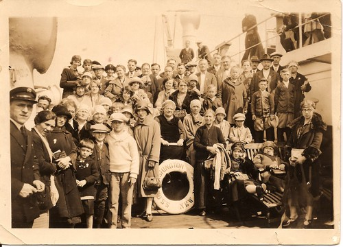 Group Photo - SS George Washington, circa 1926