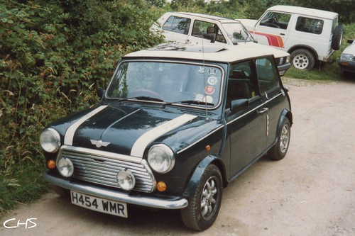 Oldie, 35mm - My RSP Mini Cooper, owned 1991 - 92 by Stocker Images