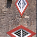 Small photo of A la Ronde : pair of windows
