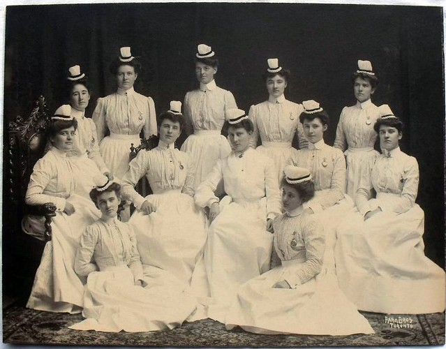 Canadian Training School for Nurses Graduates Late 1800's