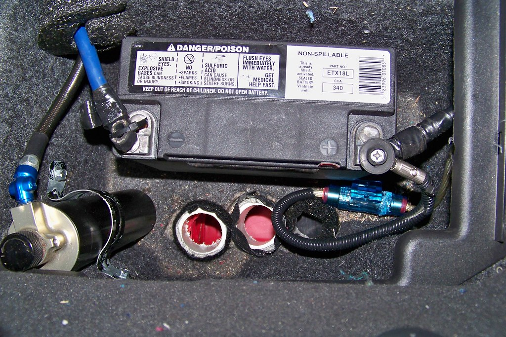 Diy Lightweight Battery Relocation From Front To Rear