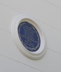 Photo of William De Morgan and Evelyn De Morgan blue plaque