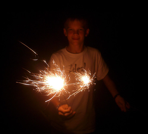 Happy Fourth Sparklers