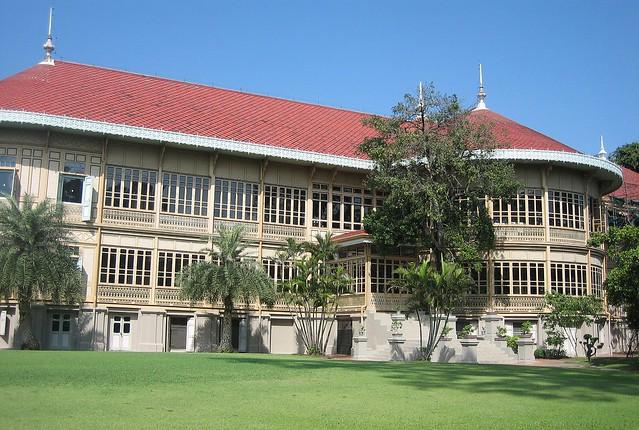 Vimanmek Teak Mansion, Bangkok, Thailand  Flickr - Photo Sharing!
