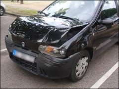 Crashed FIAT Punto
