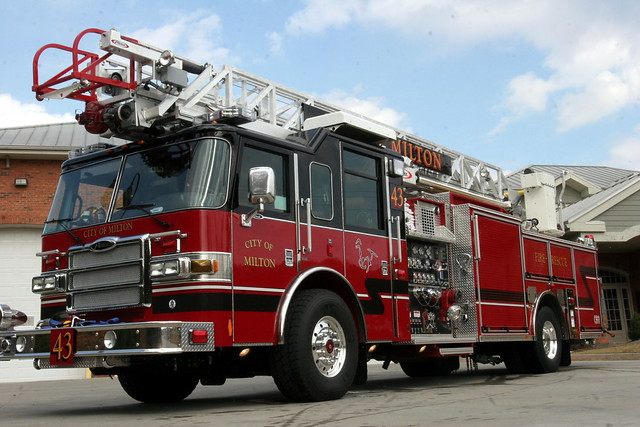 Milton Fire Truck Flickr Photo Sharing