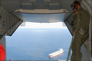 Coast Guard Provides Media Aerial View of Deepwater Horizon Spill Cleanup Efforts