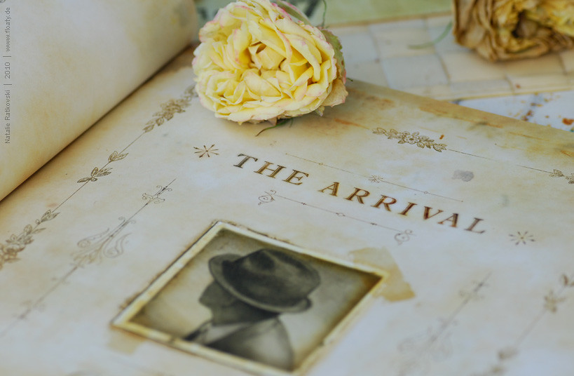 """The Arrival"" at home :-)"