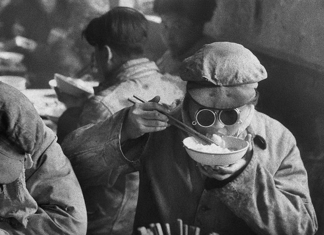 Anshan, by Marc Riboud 1957