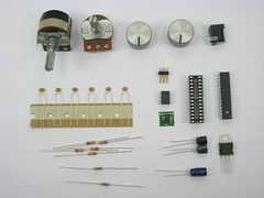 electrical wiring(0.0), circuit component(1.0), passive circuit component(1.0), microcontroller(1.0), diode(1.0),