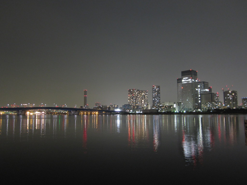 City on the water - Toyosu