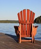 wood muskoka chair