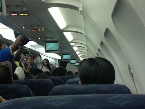 Interior de Airbus de Mexicana