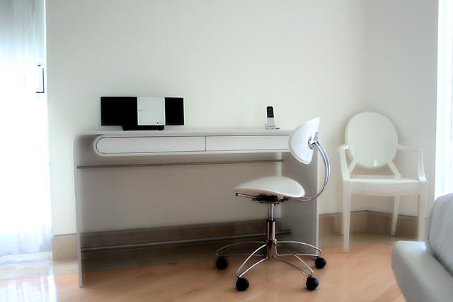 Escritorio contemporaneo mobiliario moderno dise o de - Muebles de metal ...