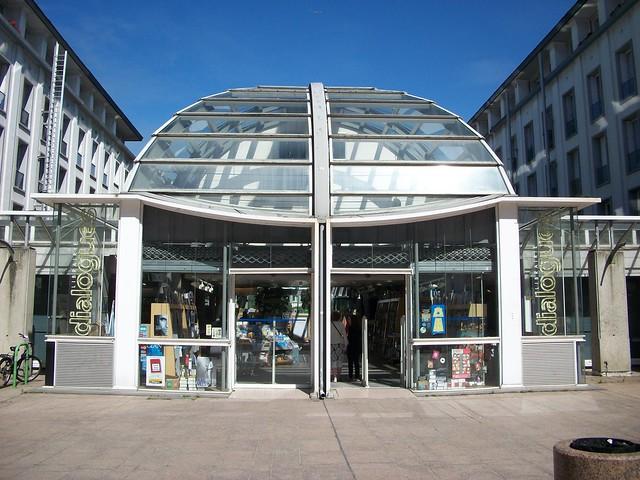 Librairie Dialogue - quartier Siam - centre ville (Brest)