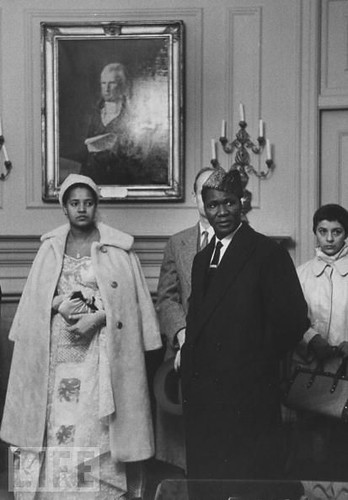 Former Guinean President Ahmed Sekou Toure and Madame Toure while on a state visit to the United States during the early years of national independence. The West African state had been a French colony. Toure founded and led the Democratic Party of Guinea. by Pan-African News Wire File Photos