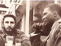 Cuban Commandante and President Fidel Castro speaking with Guinean President Ahmed Sekou Toure. The two anti-imperialists and socialist leaders made tremendous contributions to the international struggle for peace and justice. by Pan-African News Wire File Photos